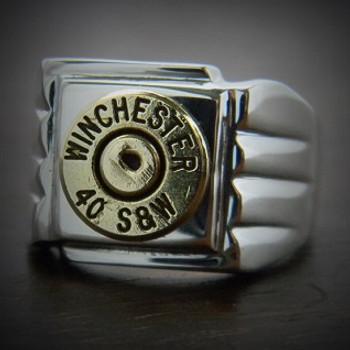 Men's Sharpshooter Bullet Ring