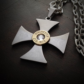 Marksman Steel Bullet Necklace