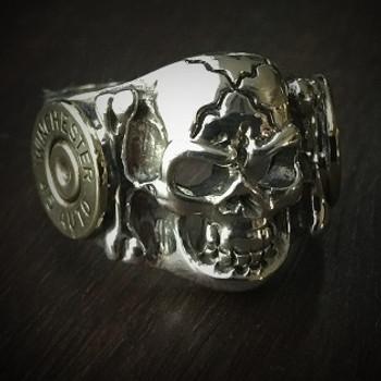 Skull Bullet Ring 2