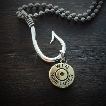 Perfect Catch Bullet Necklace for Men