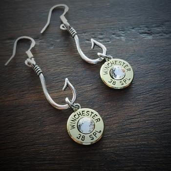 Perfect Catch Bullet Earrings