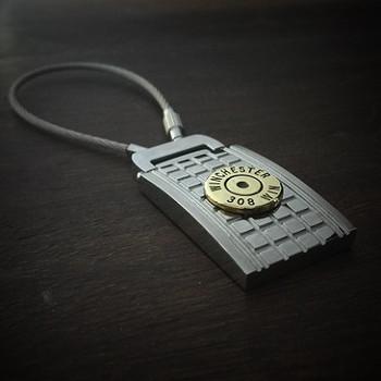 Grenade Flat Back Bullet Keychain 1