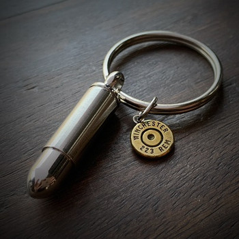 JECTZ® Stainless Steel Bullet Keychain