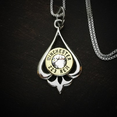 Pendulum Bullet Necklace