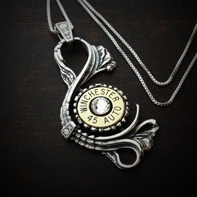 Antique Bullet Necklace