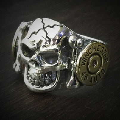 Skull Bullet Ring 1