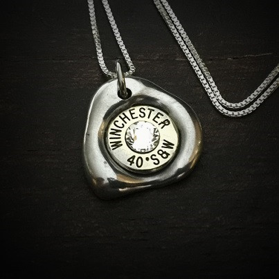 Impact Bullet Necklace for Women