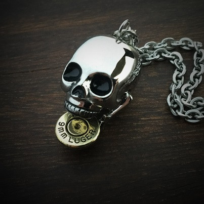 Bite the Bullet Necklace 9mm