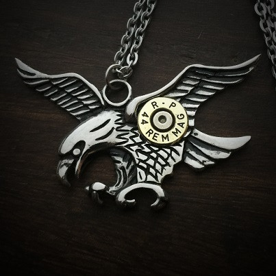 Eagle Bullet Necklace 2