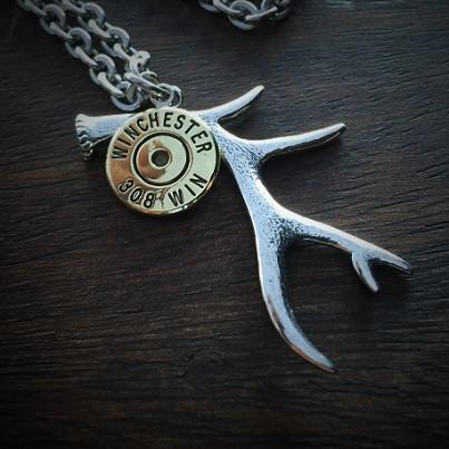 Big Game Bullet Necklace