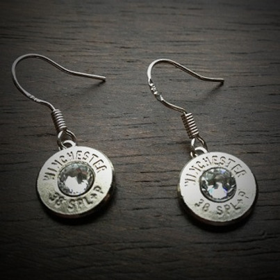 JECTZ® Original Dangle Bullet Earrings in Sterling Silver