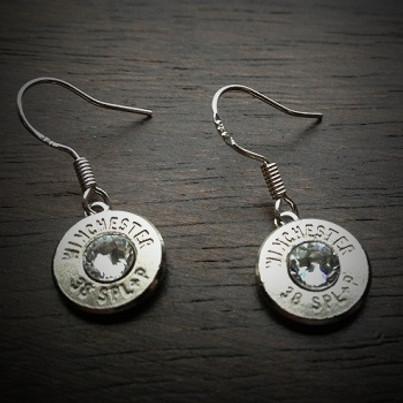 JECTZ® Original Dangle Bullet Earrings in Sterling Silver