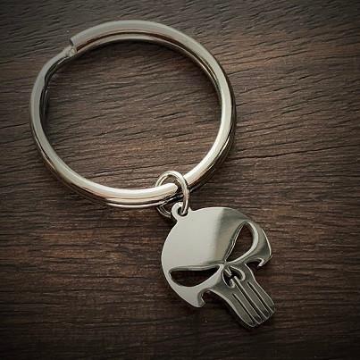 Punisher Keychain