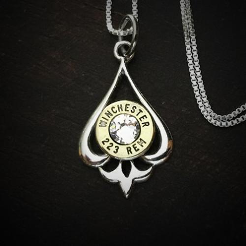 Pendulum Bullet Necklace