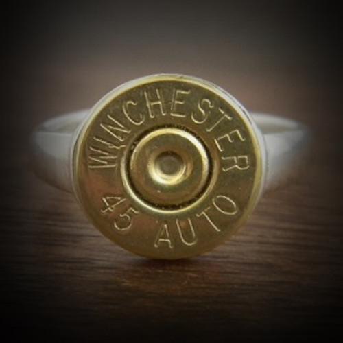Women's Top Shot Adjustable Bullet Ring