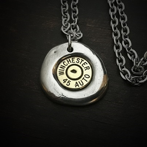 Impact Bullet Necklace for Men
