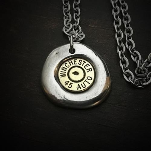 Impact Bullet Necklace for Men