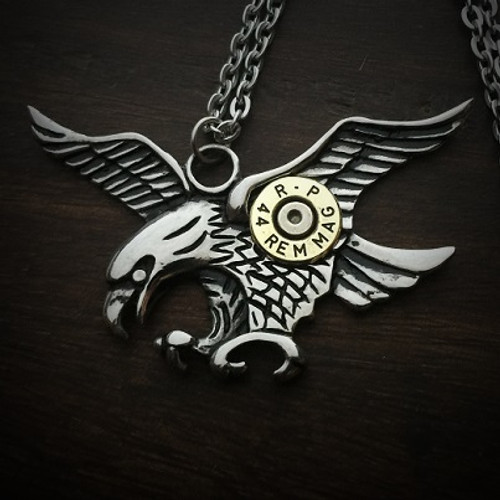 Eagle Bullet Necklace 2