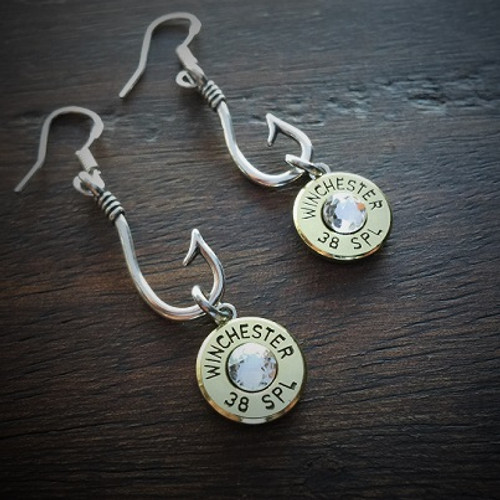 Perfect Catch Bullet Earrings