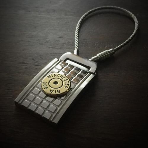 Grenade Flat Back Bullet Keychain 2