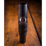 "Mallard Call by Sure-Shot The Sure-Shot 550 is a wolf in sheeps clothing. The soul of a Yentzen in a sleek poly body. Easily adjustable, giving you the true duck sound. Once patented, one of a kind double reed system, never sticks and all you do from there is, ""Take'em in the Face""! Brought to you by the Inventors of the Double Reed Duck Call, Triple Reed Duck Call, and the YENTZEN Caller..."