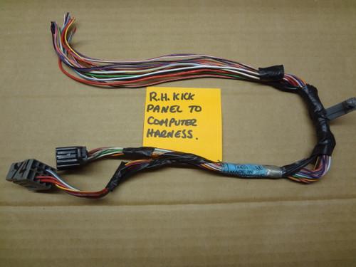 2003 - 2004 MUSTANG COBRA FUSE BOX HARNESS TO COMPUTER WIRE HARNESS PLUGS OEM SKU# CQ42