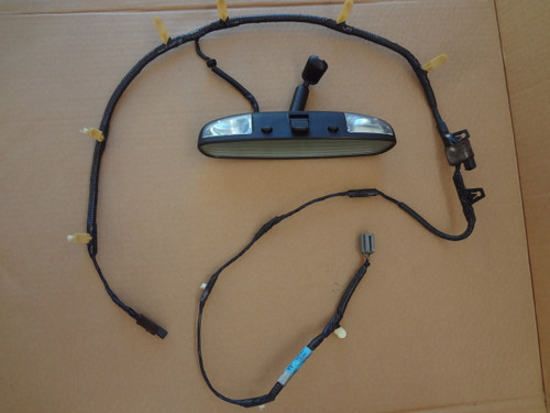 2003 - 2004 MUSTANG COBRA CONVERTIBLE REAR VIEW MIRROR & WIRE HARNESS
