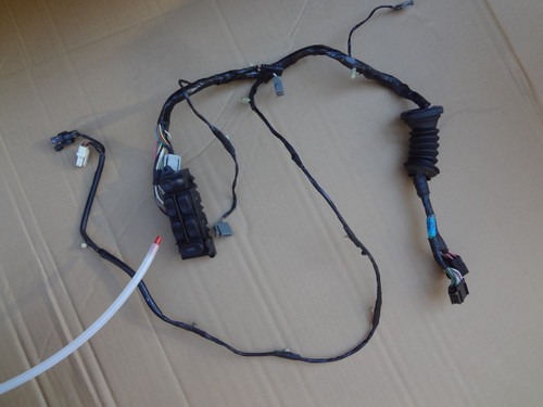 2003 - 2004 MUSTANG COBRA LH CONVERTIBLE DOOR WIRE HARNESS & SWITCH 3R33-14A509-B129K