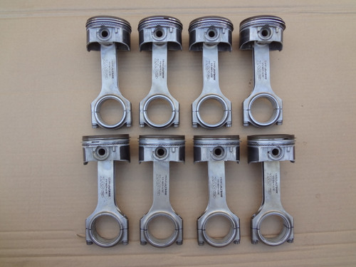 2003 - 2004 MUSTANG SVT COBRA 4.6 PISTONS MANLEY H BEAM CONNECTING RODS