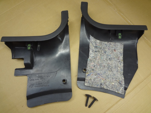 2003 - 2004 MUSTANG COBRA KICK PANELS & PINS OEM SKU# AQ171