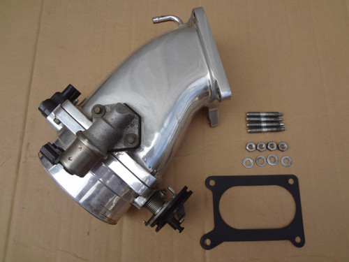 2003 - 2004 MUSTANG COBRA ACCUFAB POLISHED THROTTLE BODY & PLENUM SKU# AB512