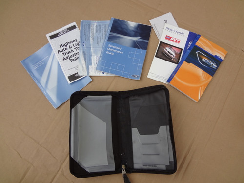 2004 MUSTANG COBRA OWNERS MANUAL & CASE OEM SKU# AB514