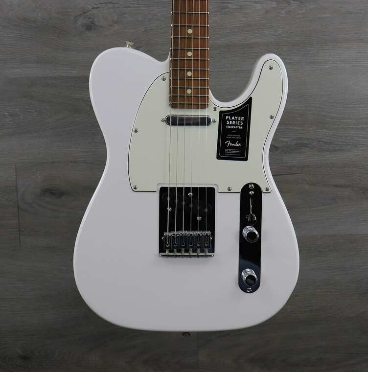 Fender Player Telecaster with Pau Ferro Fretboard Polar White