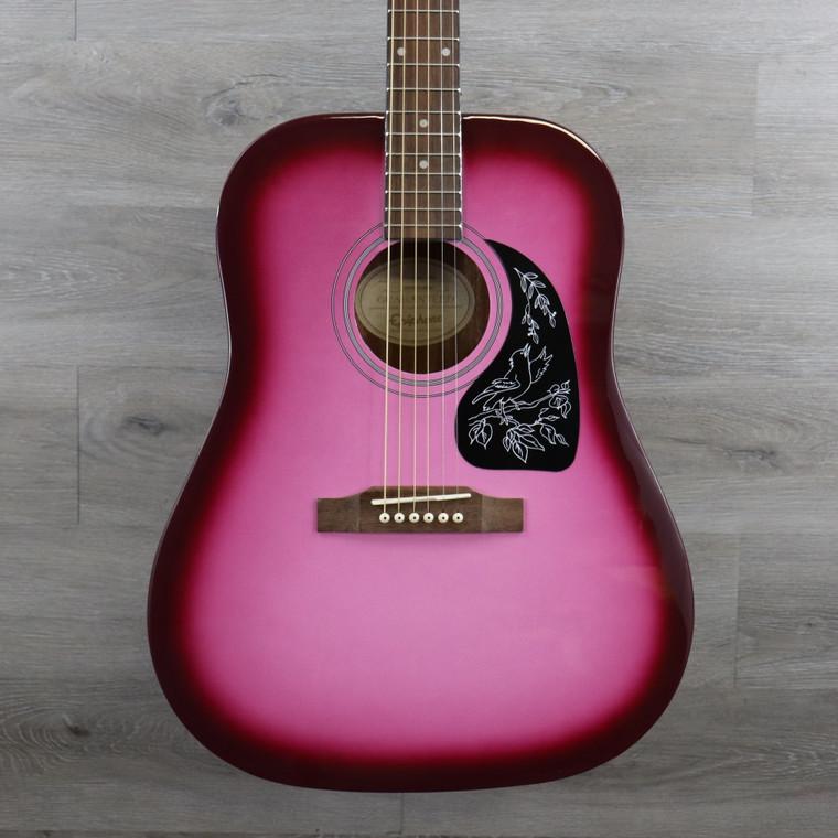 Epiphone Starling Acoustic Guitar - Hot Pink Pearl
