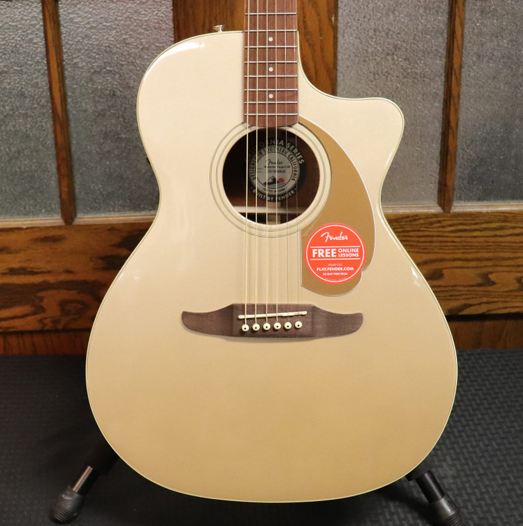 Fender California Series Newporter Player Acoustic-Electric Champagne