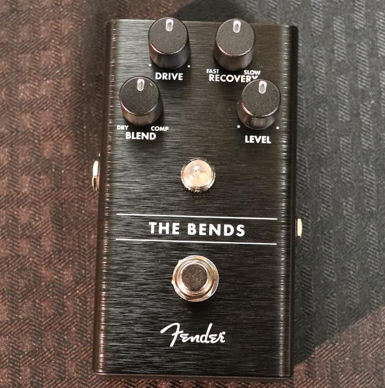 Fender The Bends Compressor Black