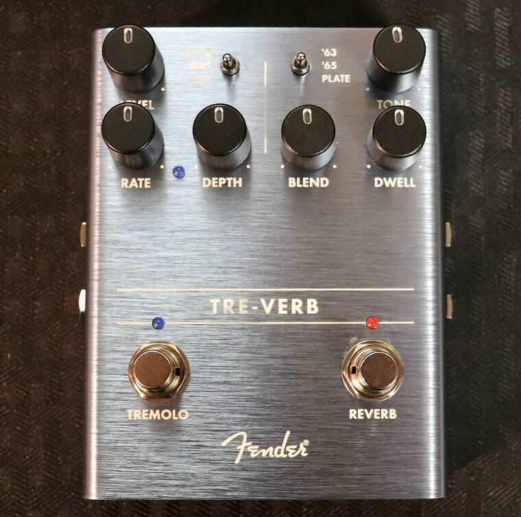 Fender Tre-Verb Tremolo/Reverb Blue