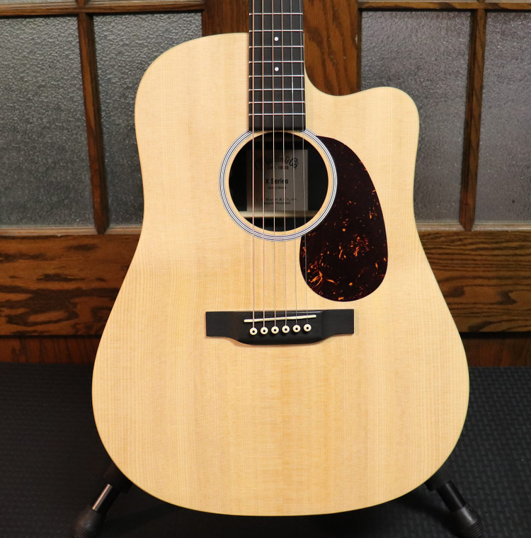 Martin DCX1RAE X Series Sitka Spruce/Rosewood HPL Acoustic-Electric Guitar Natural