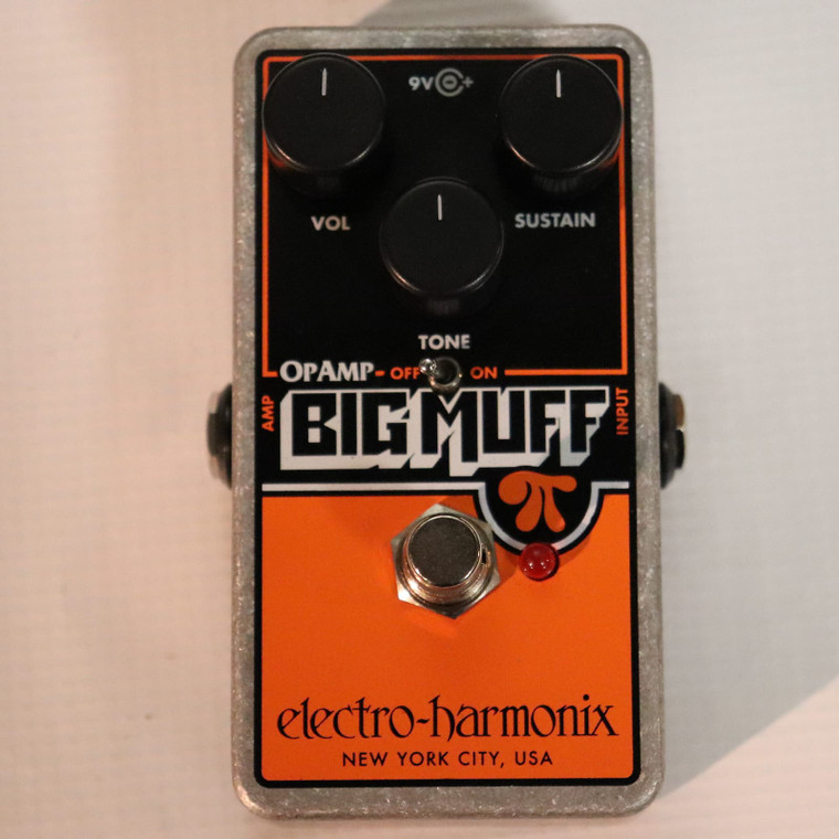 Electro-Harmonix Op Amp Big Muff Pi Reissue Black / Orange