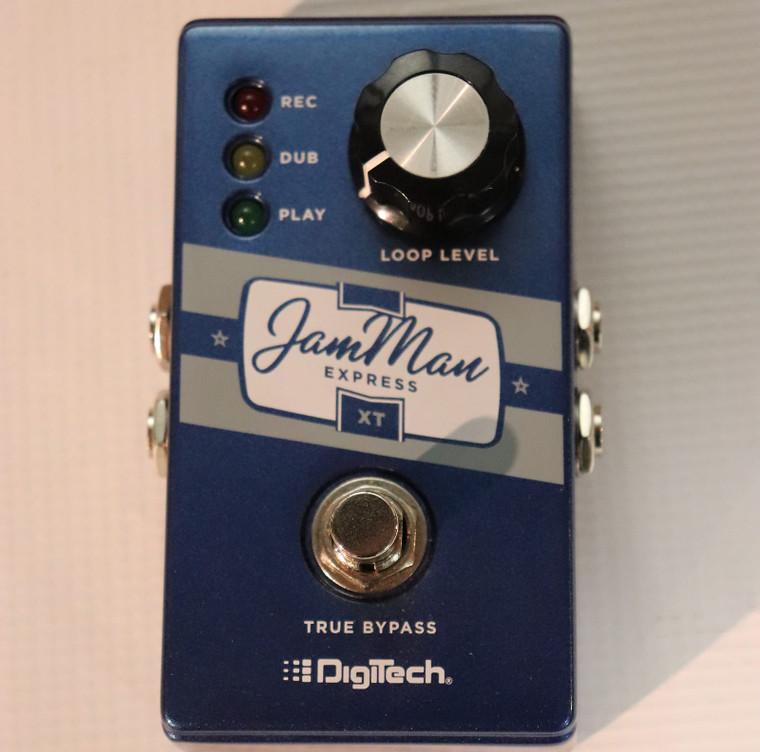 DigiTech JamMan Express XT Compact Stereo Looper Blue