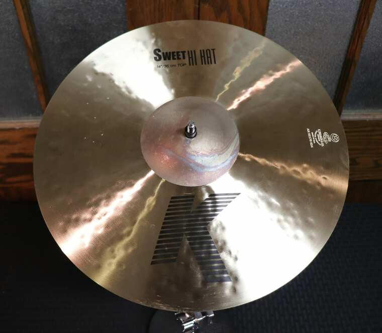 "Zildjian 14"" K Series Sweet Hi-Hat Cymbals (Pair) Traditional"