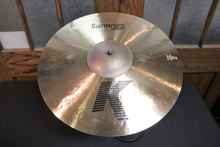 "Zildjian 18"" K Series Cluster Crash Cymbal Traditional"