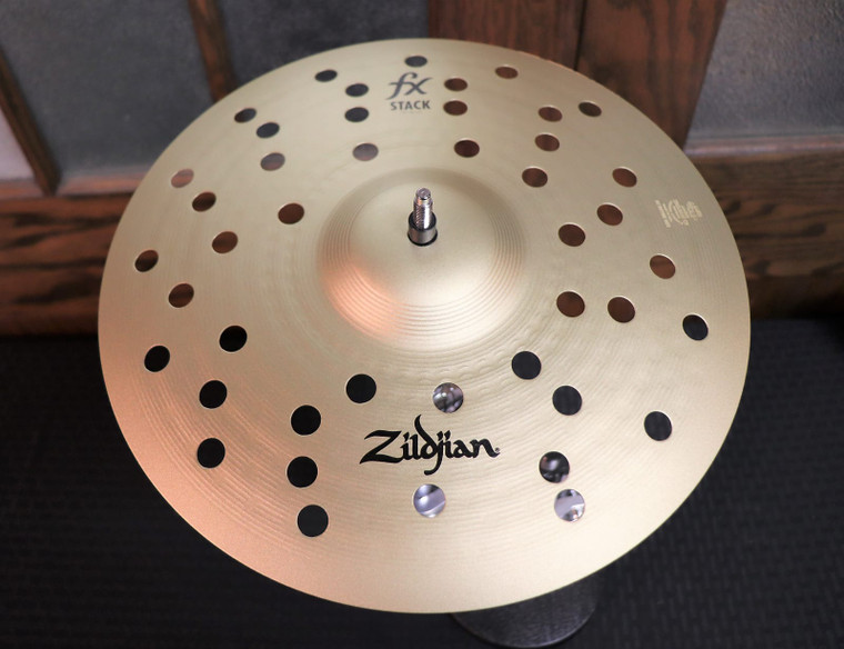 """Zildjian 12"""" FX Stack Cymbals (Pair) with Mount Traditional"""