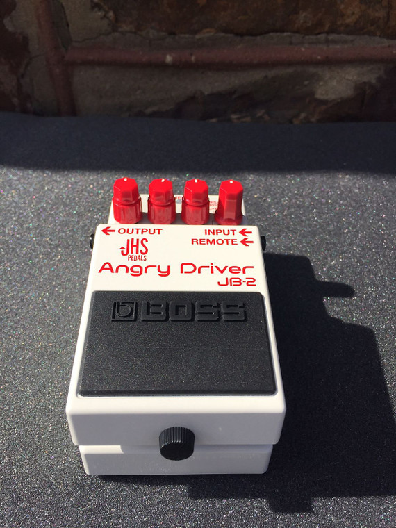 Boss JB-2 Angry Driver Overdrive Guitar Effects Pedal Free Shipping! White / Red
