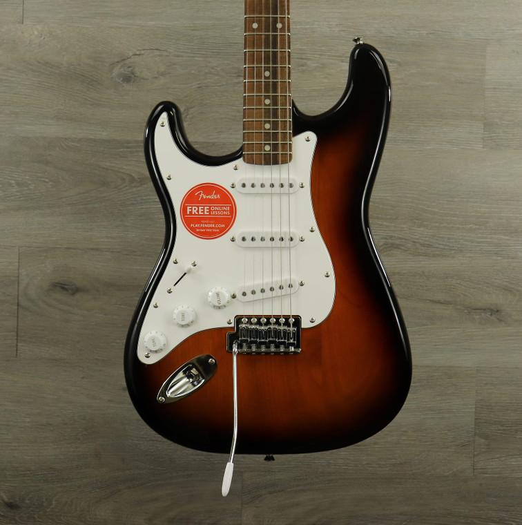 Squier Affinity Series Stratocaster Left-Handed Brown Sunburst