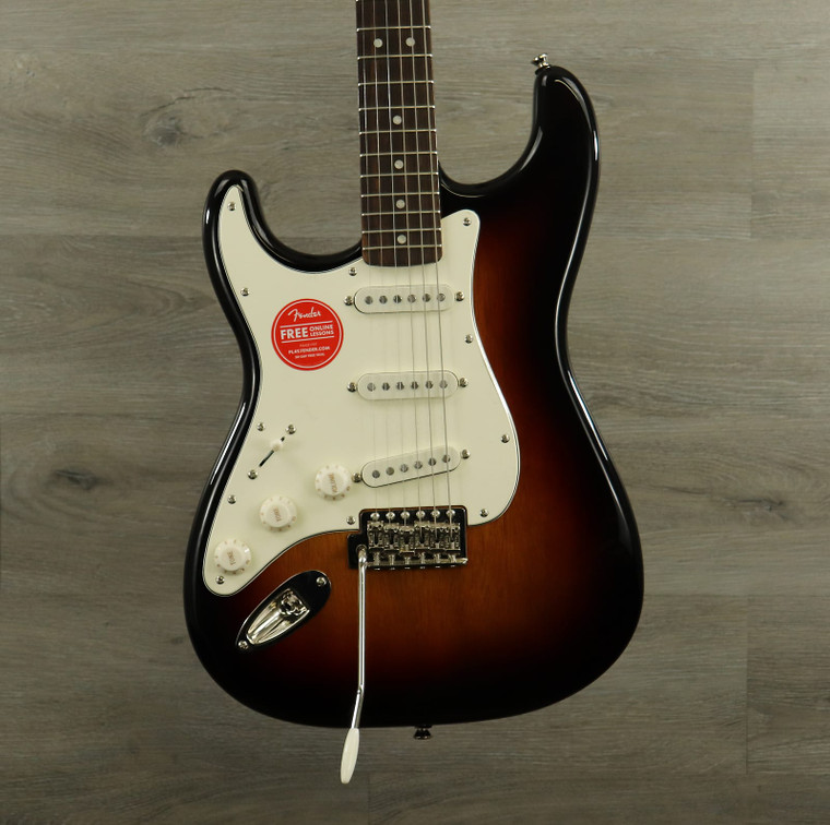 Squier Classic Vibe '60s Stratocaster Left-Handed 3 Color Sunburst