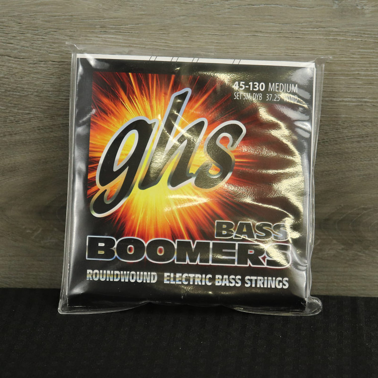 GHS 5-5M-DYB 5-string Bass Strings with Low-B 45-130 Nickel