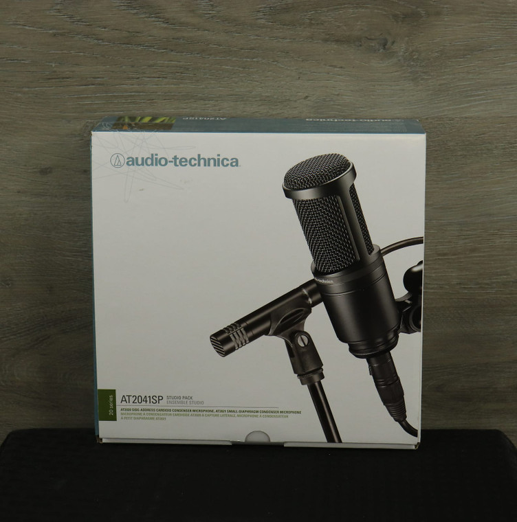 Audio-Technica AT2041SP AT2020 and AT2021 Studio Mic Package Black