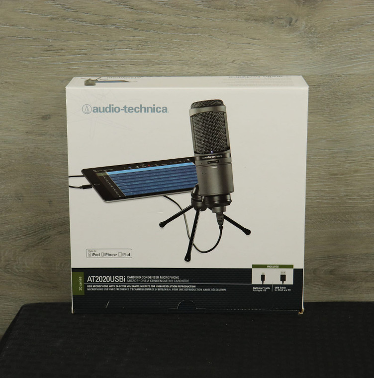 Audio-Technica AT2020 USBi Black