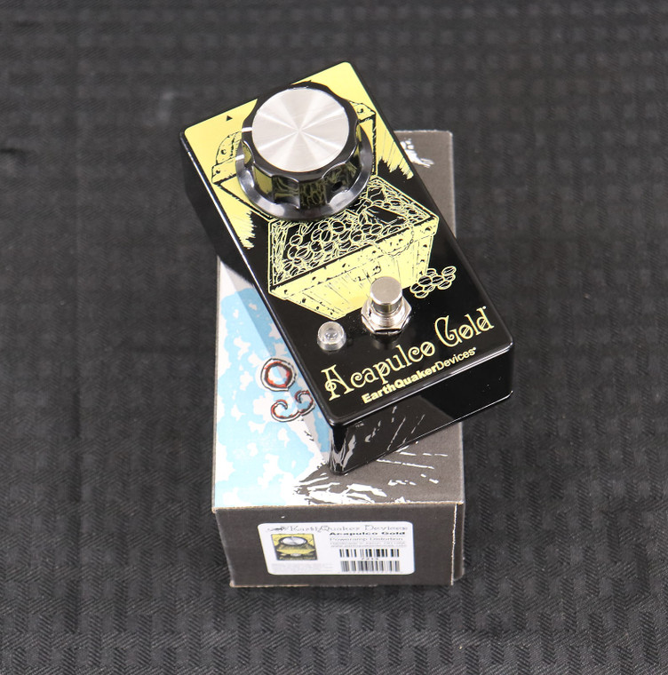 EarthQuaker Devices Acapulco Gold Power Amp Distortion V2 Graphic